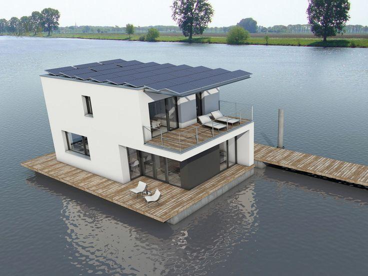 плавучий дом в Голландии