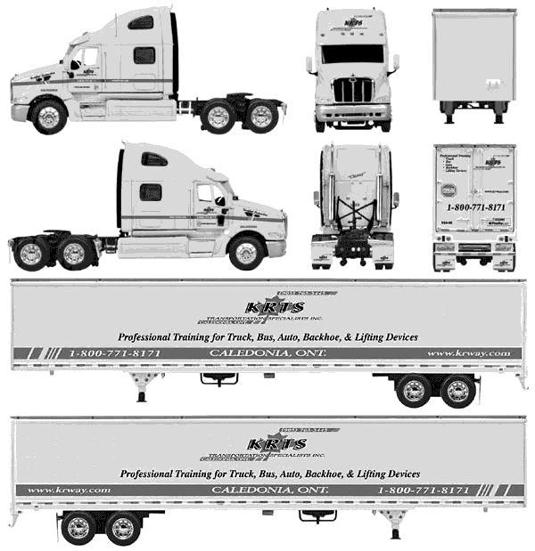 Peterbilt Truck Template 2009 Peterbilt 387 Heavy Truck - truck leasing template