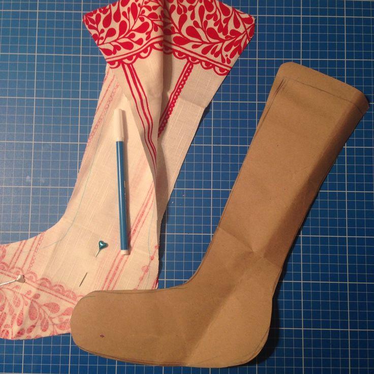 Tutorial da peggy jounal -prima o poi lo farò- blog Nigutindor - calze della befana