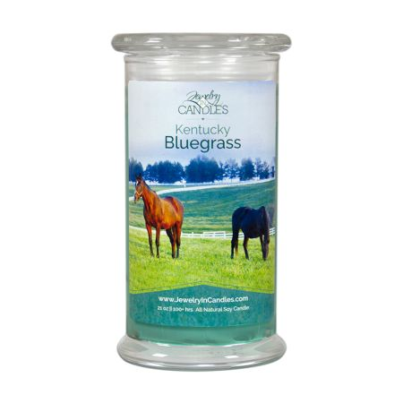 Kentucky born and proud. Love the scent of fresh-cut green grass? Enjoy the crisp and clean aroma of Kentucky's rich bluegrass every time you burn your candle or wax tarts. Bring the slightly sweet and woody scents of the great outdoors into your home. Infused with natural essential oils.  Full size 21oz scented candle  100% all natural Soy candle   Burns for 100 to 150 hours.   #Kentucky #JICSCENTS #BleedBlue #bluegrass #candles
