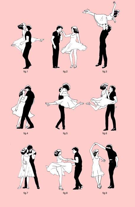 YAY ein Klassiker für die Sommernächte: Hab Spaß mit den Dirty Dancing Tanzfiguren