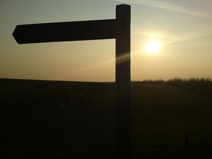 Silhouette signage at herrington country park.