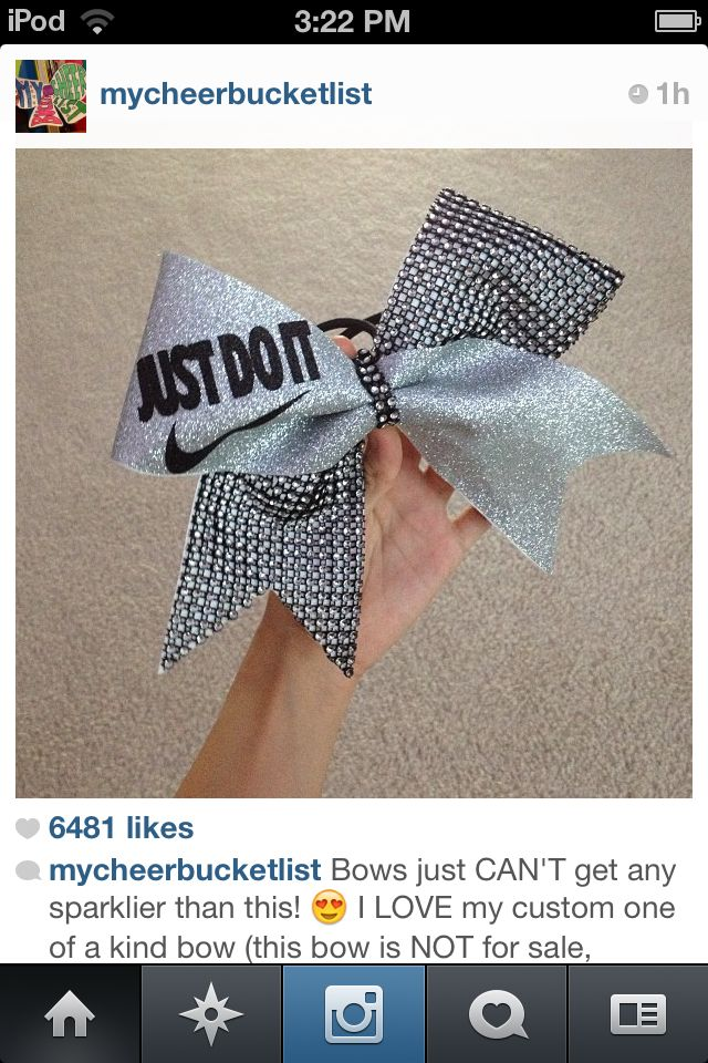 Cheer bow LOVE IT STORY OF MY LIFE