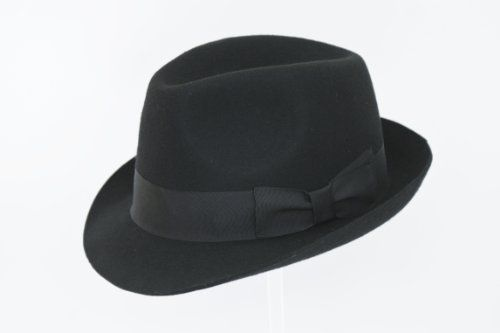 135 kr. Black Wool Trilby Hat Rus The Hat Outlet http://www.amazon.co.uk/dp/B00JR472OC/ref=cm_sw_r_pi_dp_0mi3wb0KJWNZE