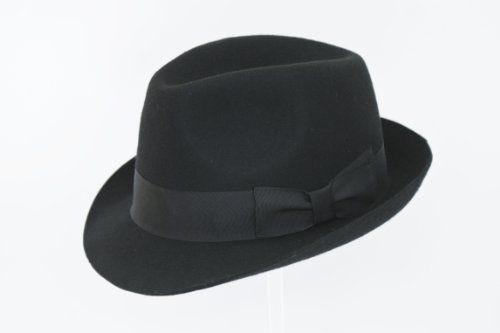 135 kr. Black Wool Trilby Hat Rus The Hat Outlet http://www.amazon.co.uk/dp/B00JR472OC/ref=cm_sw_r_pi_dp_0mi3wb0KJWNZE