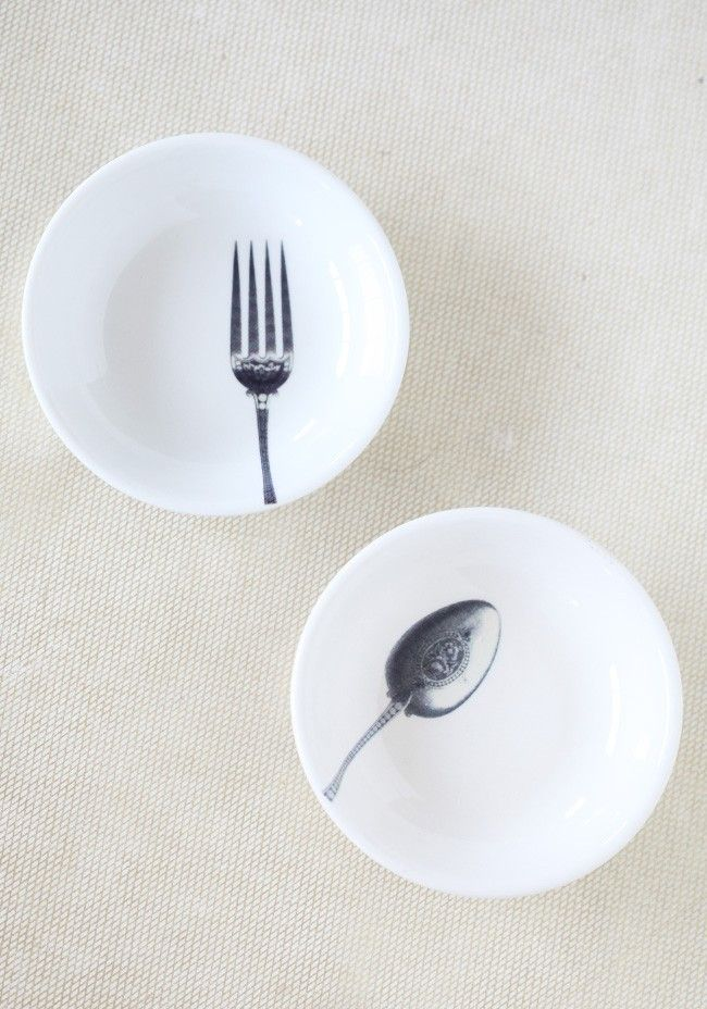 Little Spoon And Fork Bowl Set at ShopRuche.com