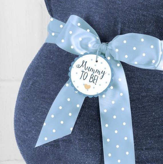 Mummy to Be Sash, Mum to Be Sash, Blue Mum to Be Sash, Baby Shower, New Baby Party, Gender Reveal, Baby Shower Sash, Mum to be gift