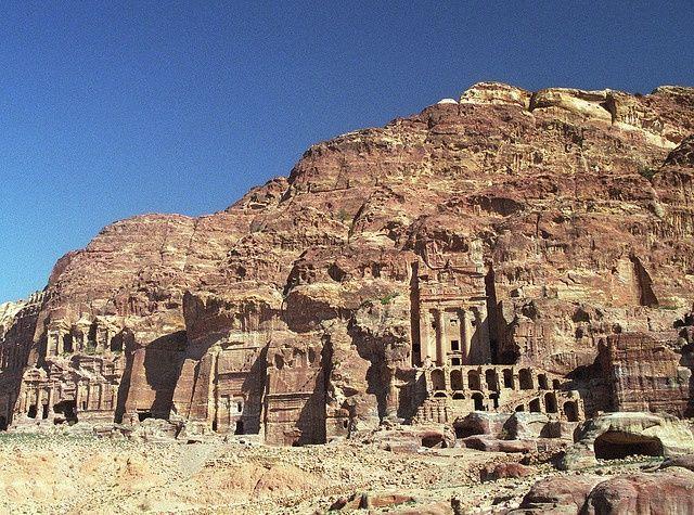 A section of Petra, Jordan