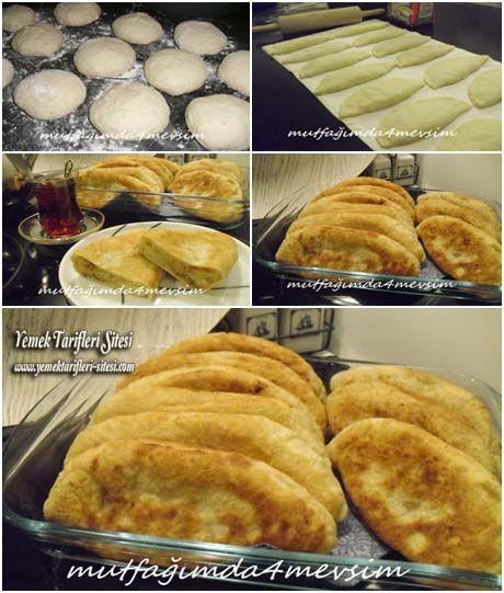 Mayalı Hamurdan Patatesli Yarımca Börek Tarifi