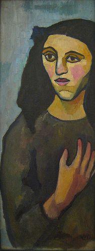 Sonia Delaunay-Terk (1885-1979) was een Oekraïens-Franse kunstenares, die trouwde met Robert Delaunay. Haar oeuvre omvat onder meer sieraden, schilderijen, textielontwerpen en decorontwerpen.Toen haar inkomen wegviel als gevolg van de Russische Revolutie, begon Sonia met het ontwerpen van kleding, stoffen en theaterkostuums, wat een zakelijk succes bleek.   In de crisisjaren sloot zij haar bedrijf, en ging weer schilderen, maar bleef ook haar ontwerpen verkopen.
