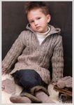 Мобильный LiveInternet Жакет на молнии и шапочка для мальчика   Swet231 - Дневник Swet231  
