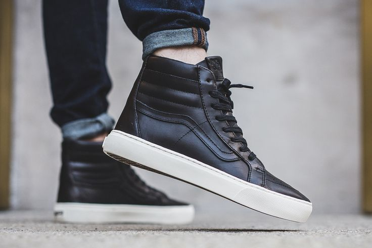 Vans Vault Builds the Sk8-Hi in Horween Leather - EU Kicks Sneaker Magazine
