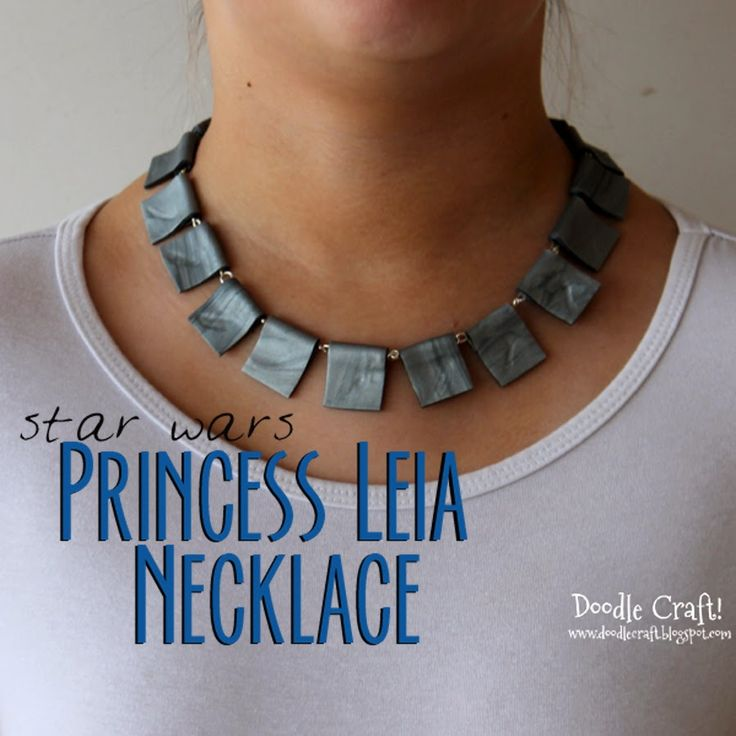 Princess Leia May The 4th Be With You: Star Wars Princess Leia Ceremonial Necklace DIY