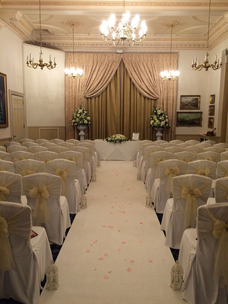 wedding reception venues north yorkshire%0A The ceremony room at our recent open evening Down Hall  Winners  Best wedding  venue