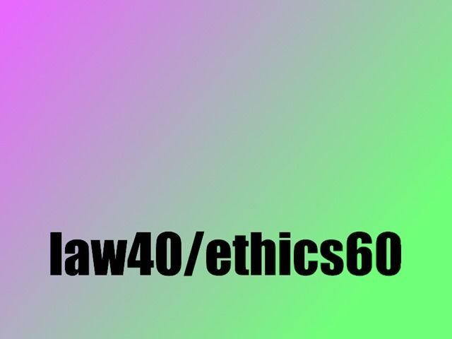 Details about the California Law & Ethics exam