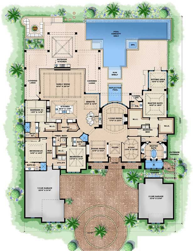 plan 86052bw: marvelous contemporary house plan with options
