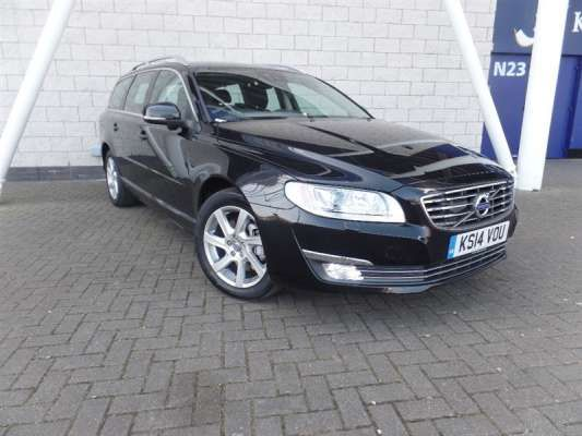 Used 2014 (14 reg) Black Volvo V70 D5 [215] SE Lux 5dr Geartronic for sale on RAC Cars