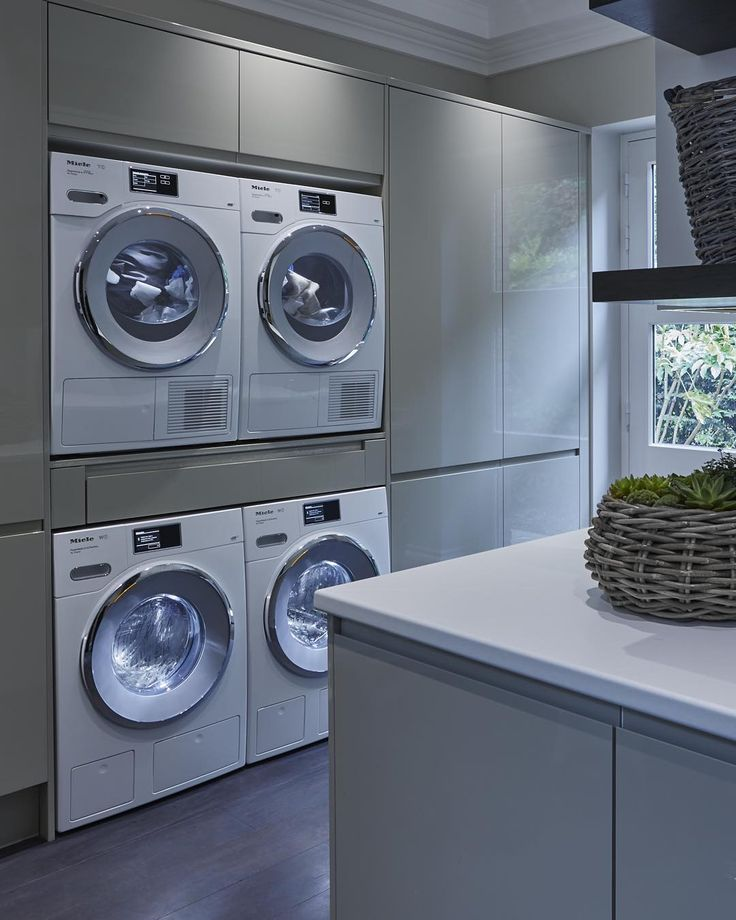 Even utility rooms can be chic and luxurious #utilityroom #laundryroom #SophiePatersonInteriors