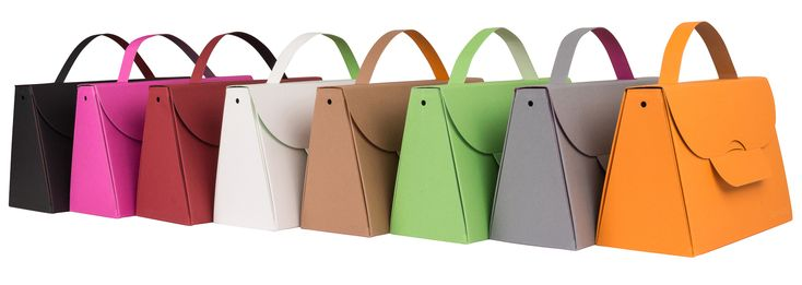 Buntbox Handbag L - Große Karton- Handtasche