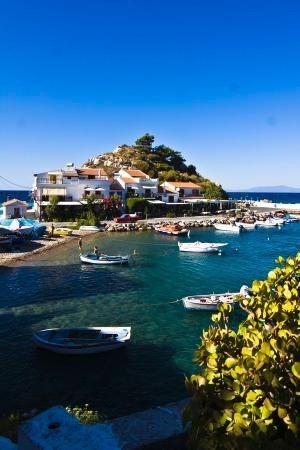 Kokkari, Samos Island, Greece by khanittha