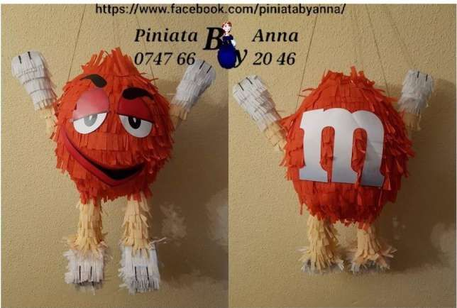 Pinata M&M Piniata Iasi - imagine 1