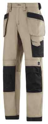Snickers Work Trousers 3214 with Kneepad & Holster Pockets 3214 (Col20/Black) | eBay