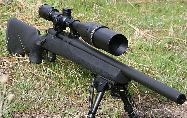 "Remington 700 SPS Tactical    Manufacturer:Remington  Caliber: .308 Winchester  Overall Length:40""  Action: Bolt"