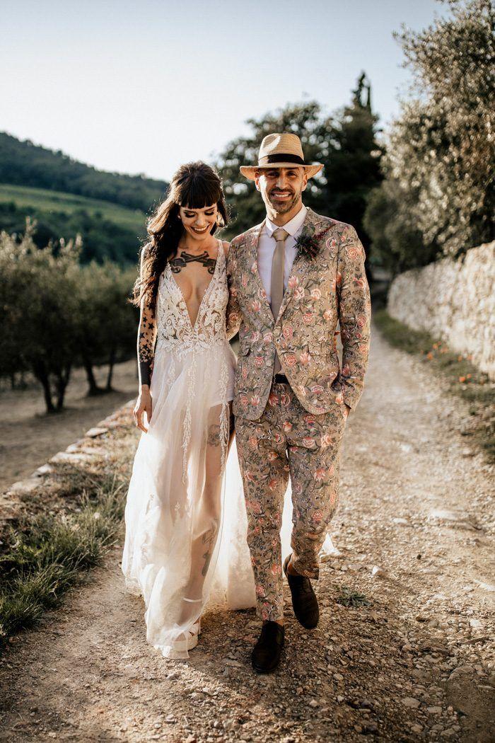 This Brazilian Couple Planned Their Fashion Forward Italian Destination Wedding In Only Four Months Junebug Weddings Cheap Beach Wedding Dresses Lace Beach Wedding Dress Beach Wedding Dress
