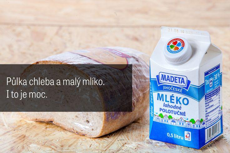 Chleba a mlíko
