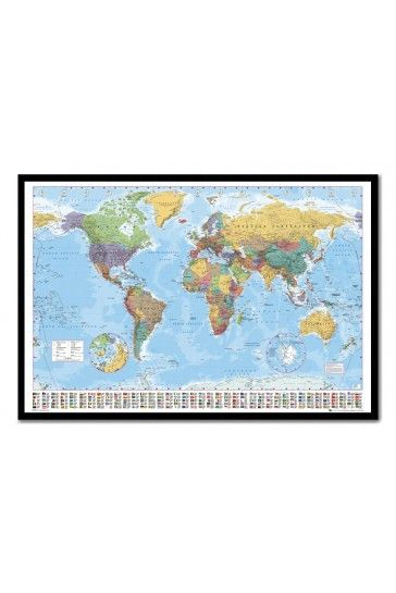 24 best cork map pin boards images on pinterest bulletin boards world map pin board framed in black wood includes pins iposters from 5695 gumiabroncs Choice Image