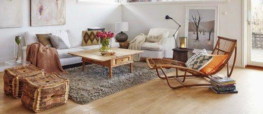 Mezclar estilos a la hora de decorar es algo que todavía hoy nos puede resultar algo difícil para atreverte a hacerlo en casa. Atrévete a mezclar una alfombra de cebra...