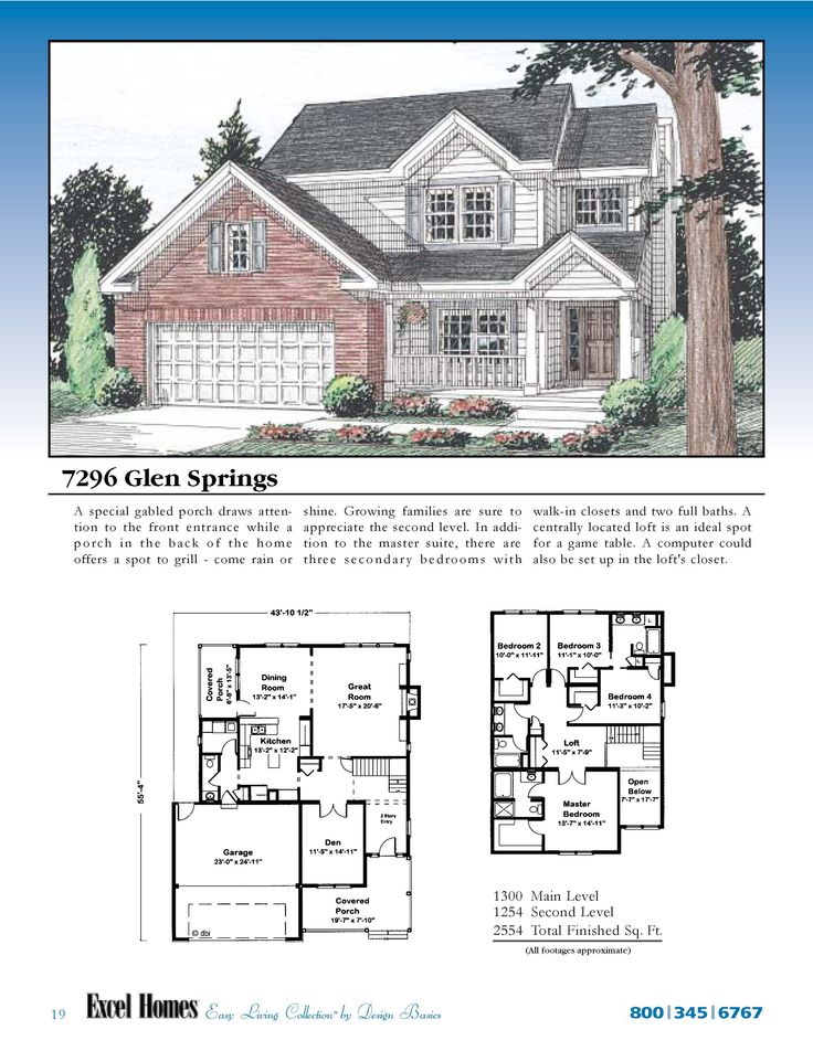 The Glen Springs To Learn More About Building Your New Home With Excel Homes,  Or