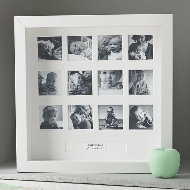 I've just found Personalised My First Year Square Frame. A beautiful personalised photo frame to capture your baby's first year.. £25.00