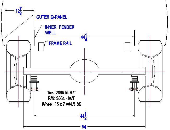 Steel drag wheels? - 332-428 Ford FE Engine Forum Fairlane Ford