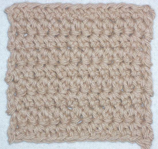 Crochet Stitches Esc : extended single crochet #crochet #crochetstitch #singleextendedstitch