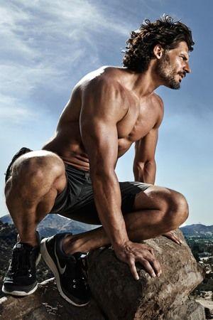 Joe Manganiello in Men's Health magazine