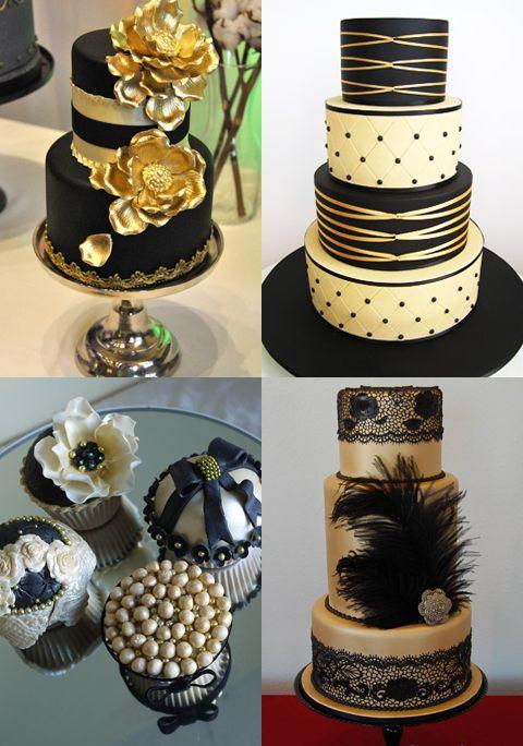Black & Gold « David Tutera Wedding Blog • It's a Bride's Life • Real Brides Blogging til I do!