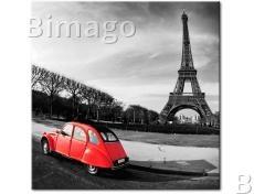 Картина Красная машинка    235146
