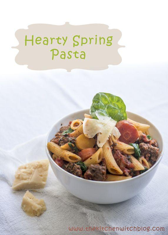 Hearty Spring Pasta | Pasta | Pinterest