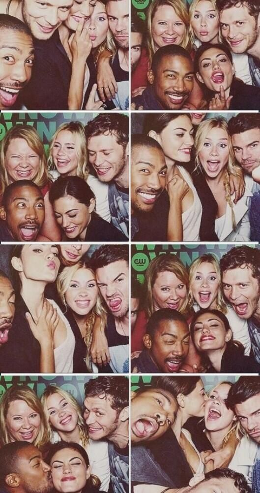 The Originals (Please take the time to look at each of their faces in turn. It's worth it.)