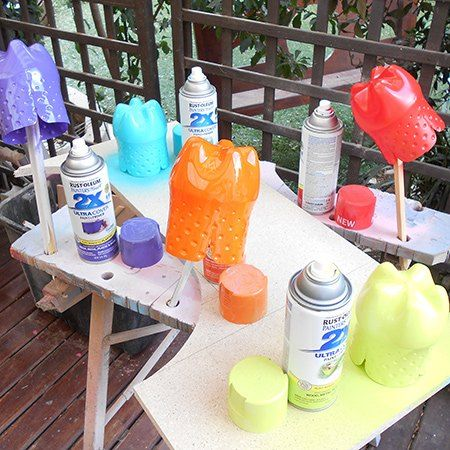 Recycled Plastic Bottle Party Favour Containers