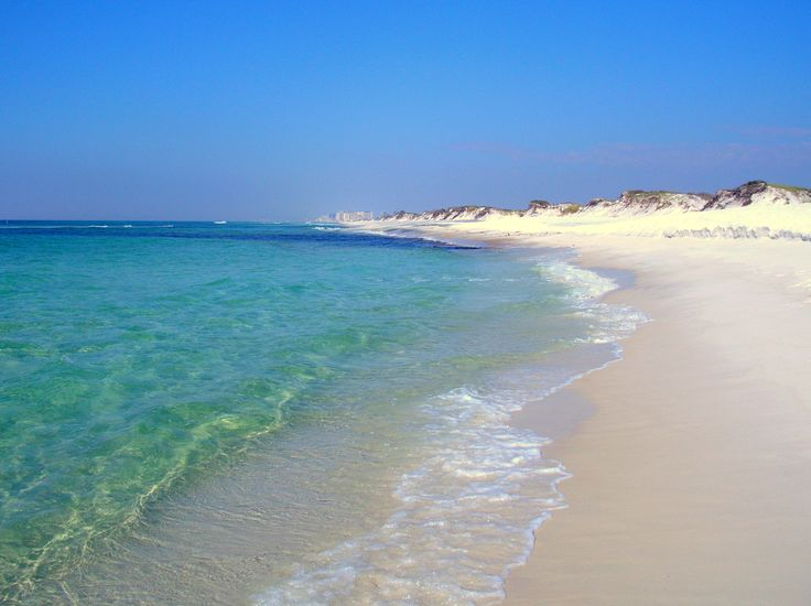This is where my hubby and me will be in just a few weeks! Just can't wait.. Topsail State Park Beach, Santa Rosa Beach, Florida