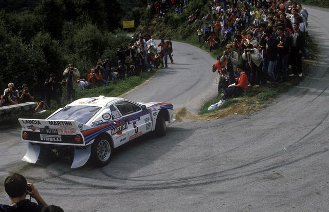 1984 Tour de Corse. Markku Alen