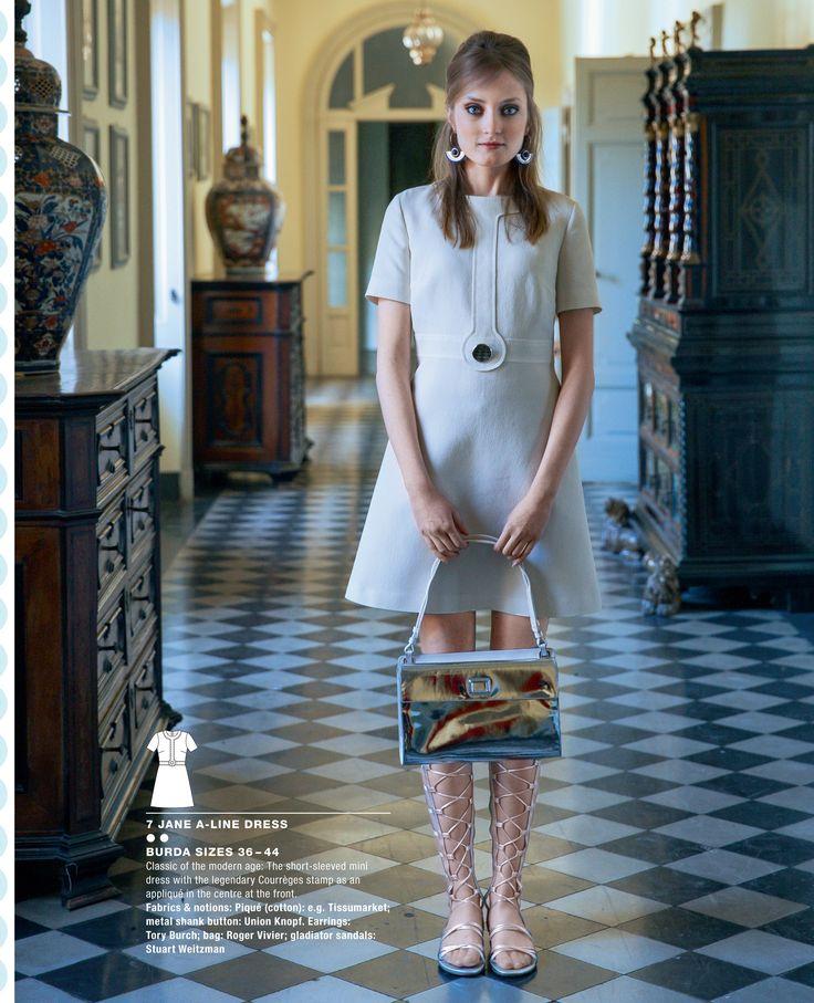 Jane A-line dress from Burda Style special vintage magazine