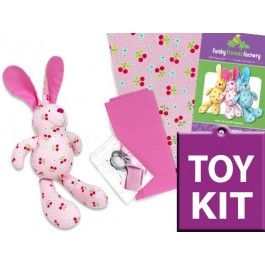 Baby Bunny Rabbit Toy KIT - PINK
