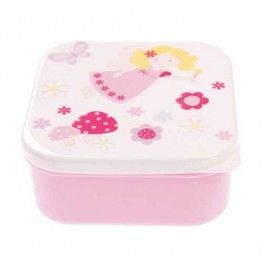This lunchbox is great for girls. It is sturdy, durable and has a tight fitting lid that could be used for sandwiches, fruit and snacks.