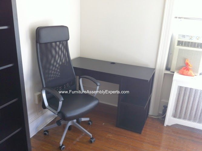 Ikea Micke Desk Assembled In Kensington Md By Furniture Assembly Experts Llc