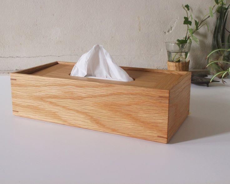 家具屋の作る ティッシュケース 「オーク」の画像1枚目