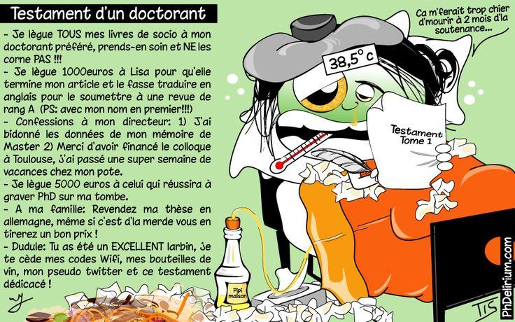 Testament d'un doctorant (Tis, 07/03/2013)