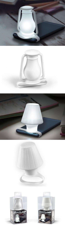 Travel Lamp by Yanko Designs